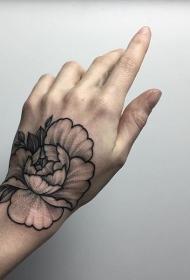 多款个性亮眼的手背纹身图案