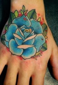 创意百变的手背纹身图案