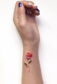 一组手腕简约小清新纹身图案作品