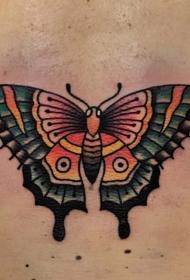 蝴蝶纹身图案   美感十足的蝴蝶纹身图案