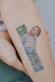 一组小清新刺青纹身图案欣赏
