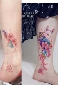 旧图疤痕遮盖几款纹身作品 重新定义纹身的美