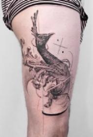 手臂凌乱线条的9款创意纹身作品