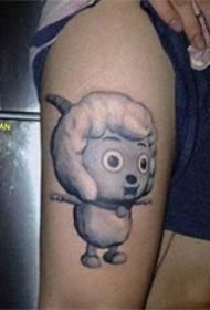 几款喜羊羊的纹身图案