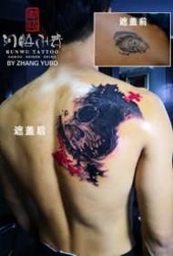 9款遮盖纹身 海南海口润悟刺青的纹身店作品
