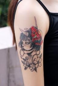 舟山纹身 浙江舟山极鸟TATTOO的几款店内纹身作品