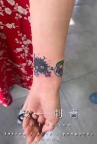 扬州纹身 江苏扬州玖一刺青店的几款纹身作品