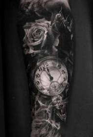 一组欧美写实手臂纹身图案欣赏