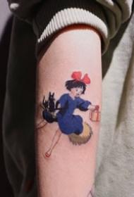 log_tattoo 的动漫纹身作品,非常别致