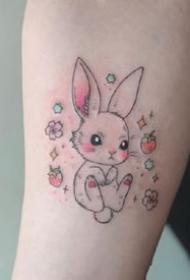 一组精致小清新可爱纹身图案